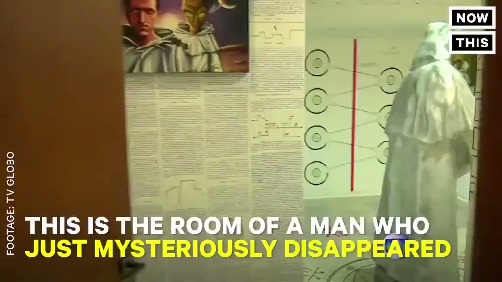 This is the room of a man who just mysteriously di