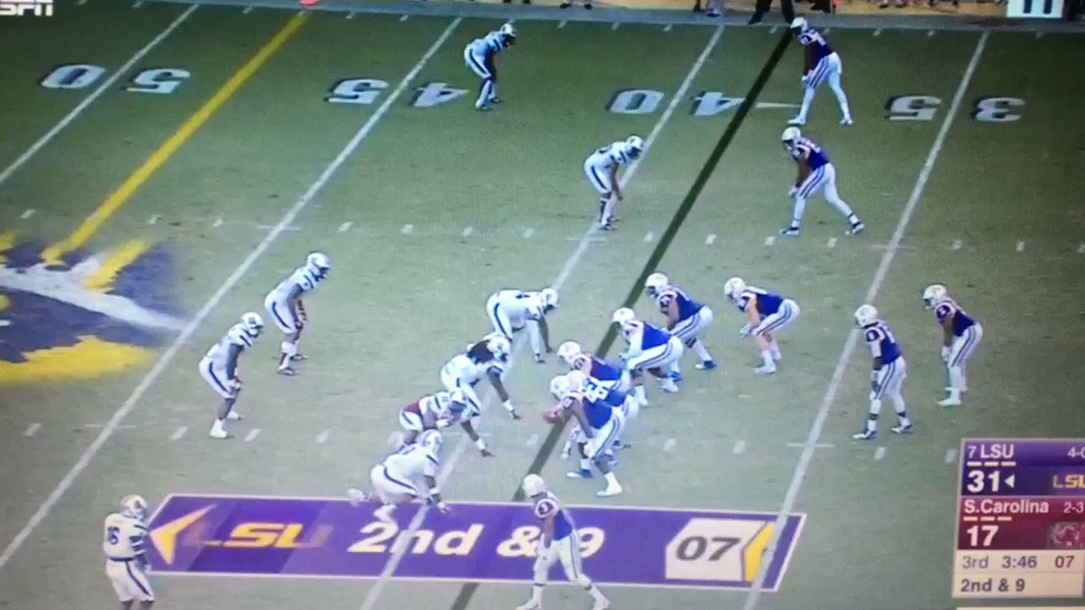 RT @WurthDraft: Still my favorite Derrius Guice run to this day... https://t.co/Y0b5TMw9le