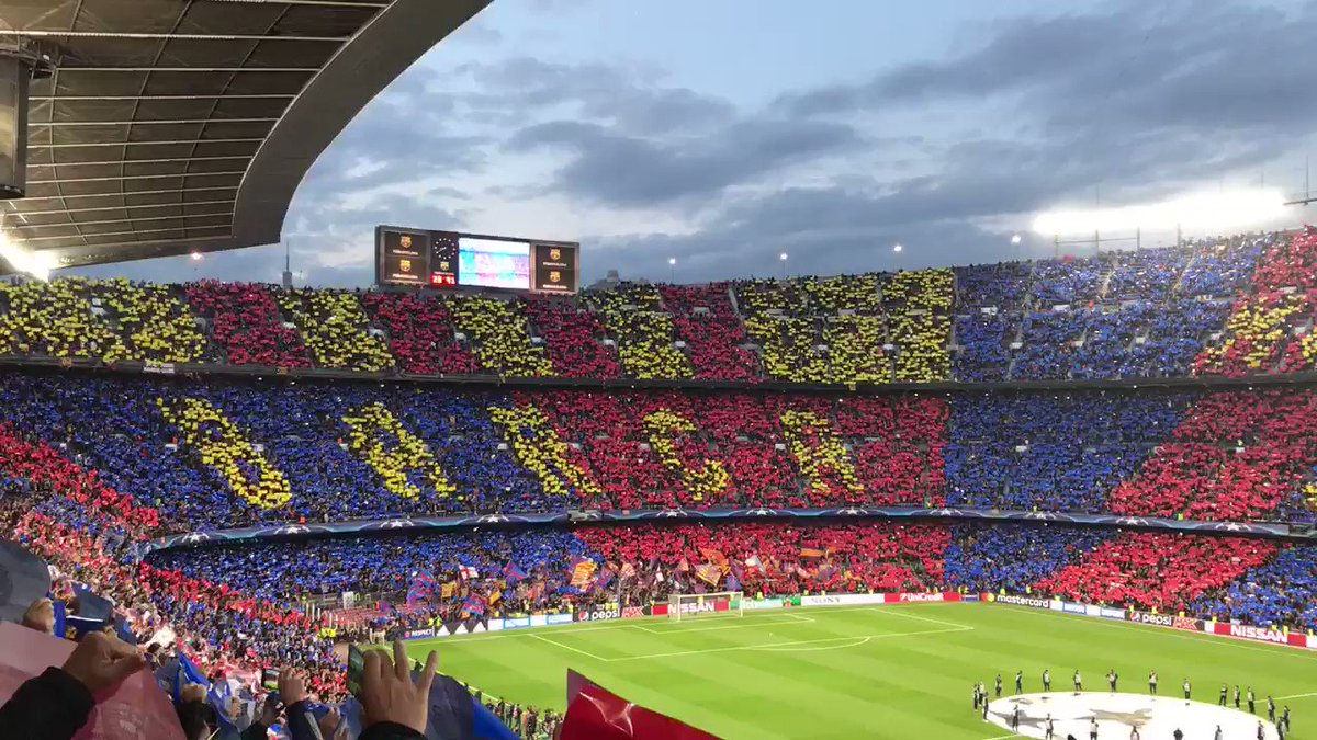 RT @FCBarcelona: ???????? #ForçaBarça https://t.co/yoML0Wu84c
