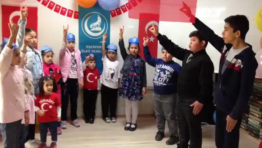 Esenyurt Ülkü Ocakları Bayanlar Birimi 23 Nisan Ulusal Egemenlik Ve Çocuk Bayramı İçin Video Hazırladı. @ISTANBULOCAK https://t.co/rd8HQcZbIO