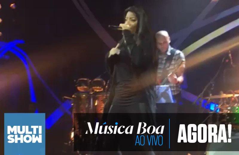 .@Ludmilla no passinho te avisa cooooorre que começou o #MúsicaBoaAoVivo!!! \o/\o/\o/