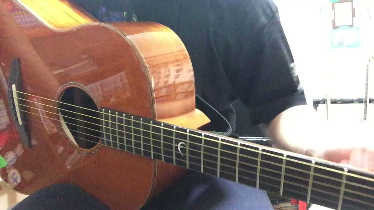 化物語 君の知らない物語弾いてみました٩( 'ω' )و#ギター好きと繋がりたい