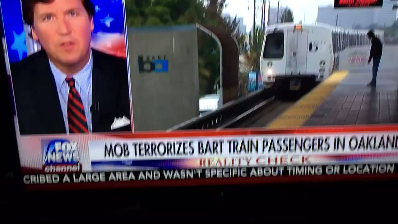 Sanctuary City Violence ! Oak, Ca.An Entire Train held hostage while up to 50 Criminals rob a dozen riders! How much Blood must be shed !🇺🇸 https://t.co/mgDj8Wl2K0
