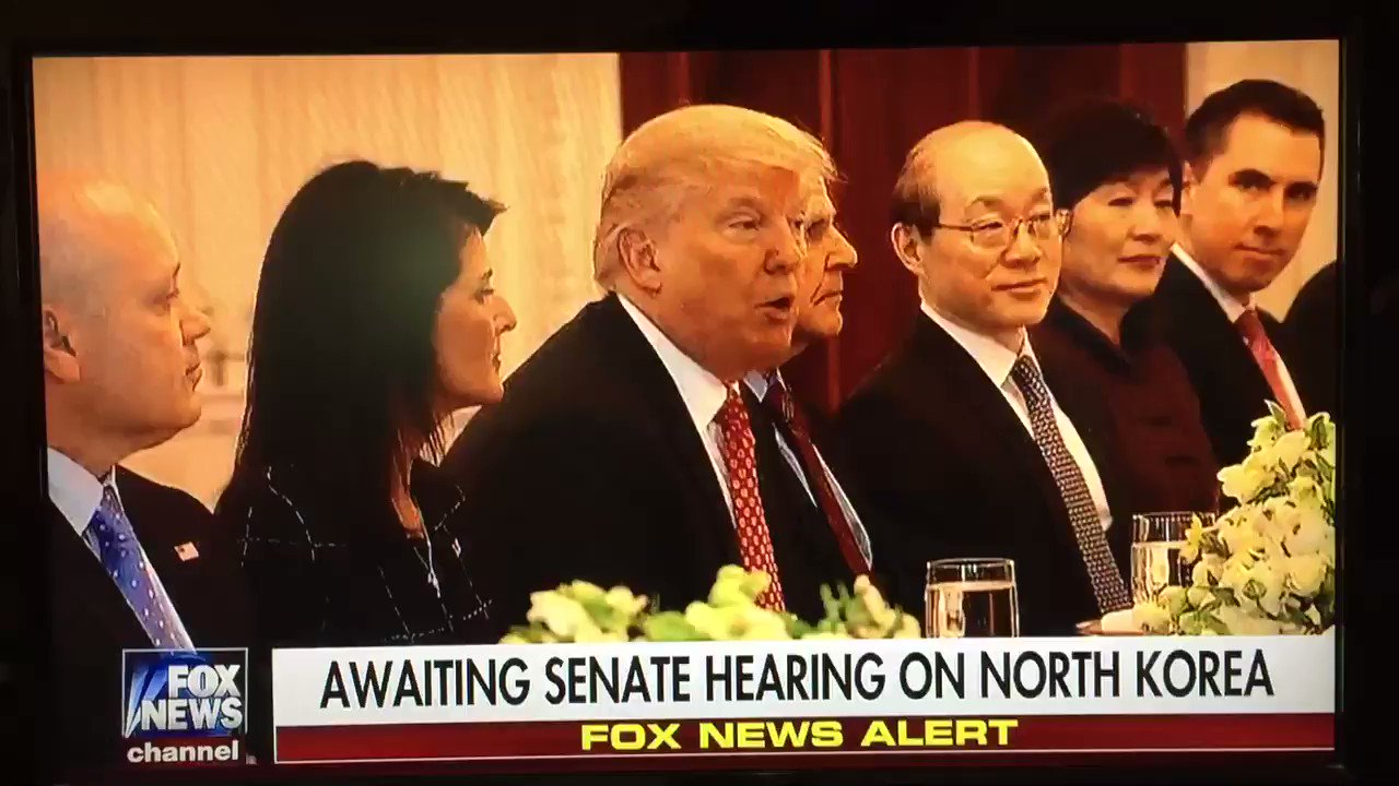 """N Korea is a big world problem People have put blindfolds on for decades Now it's time to solve the problem""  President Trump has no fear! https://t.co/2PGqCAwf21"