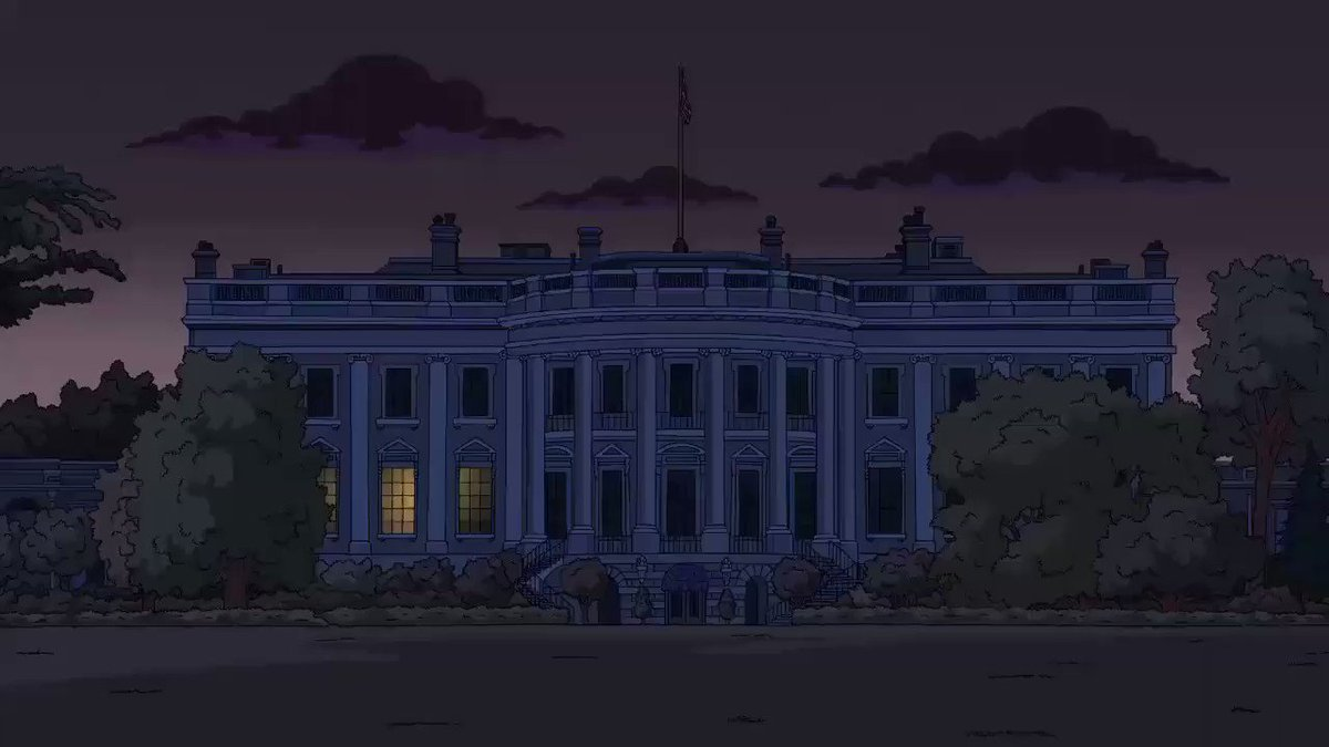 """""""The Simpsons"""" pretty much nails Trump's #First100Days.#TrumpRussia #TheResistance"""