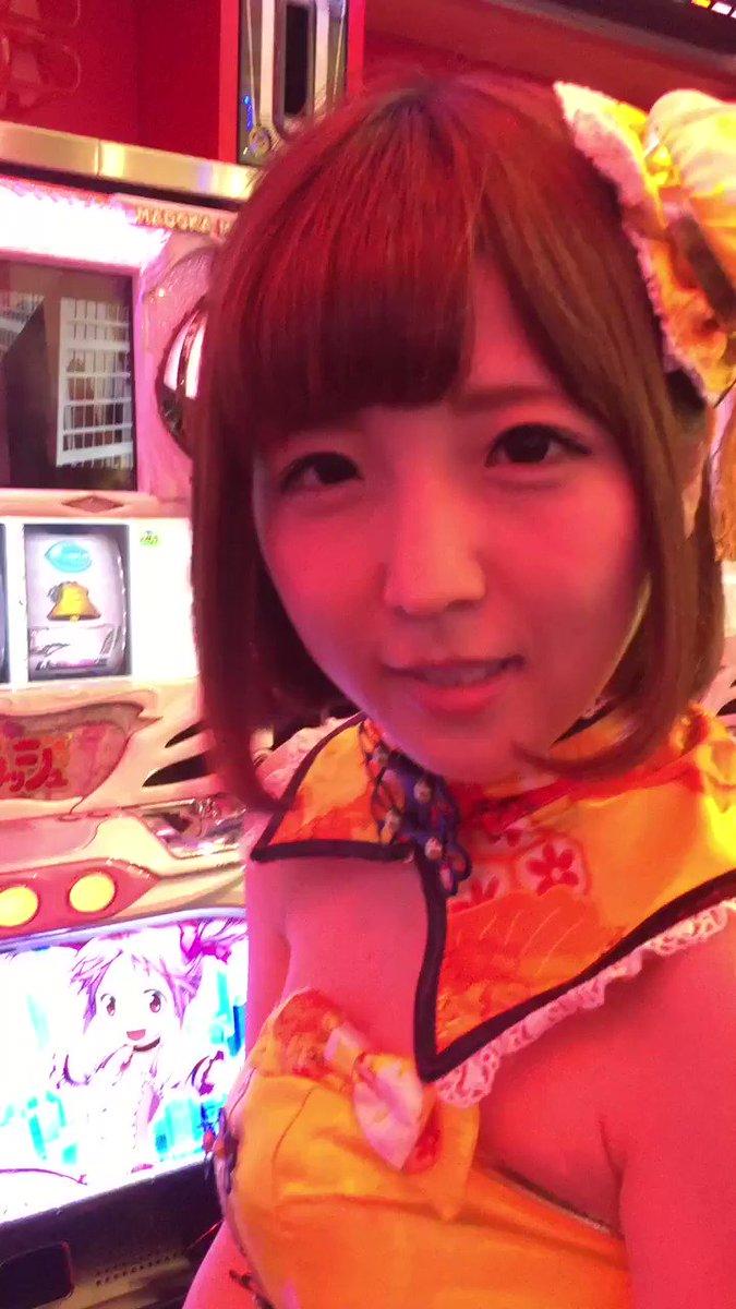 #佐倉絆 さん、ただいまより#キング観光サウザンド栄東新町店 で #まどかマギカ 実践取材です。