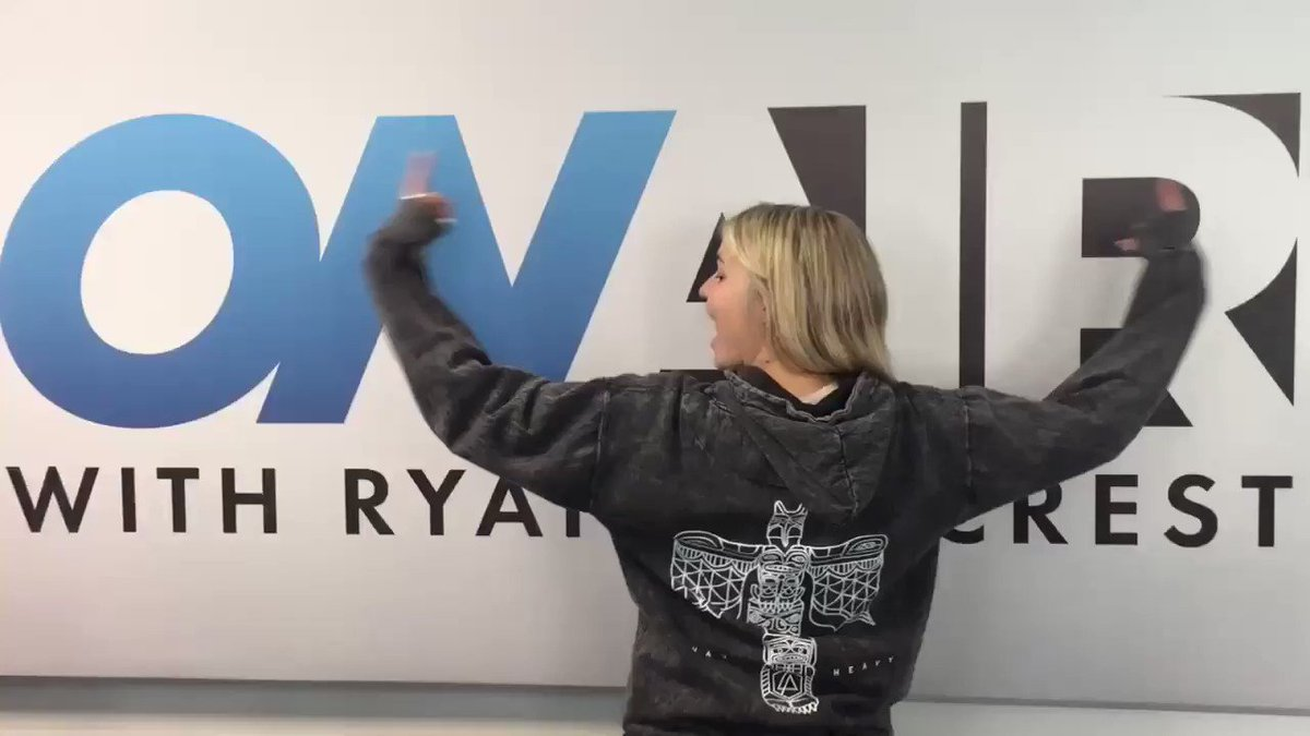 .@TanyaRad in the Heavy Totum Pullover Hoodie: https://t.co/eVqUocKAFF @OnAirWithRyan https://t.co/wLPMdnwIAy