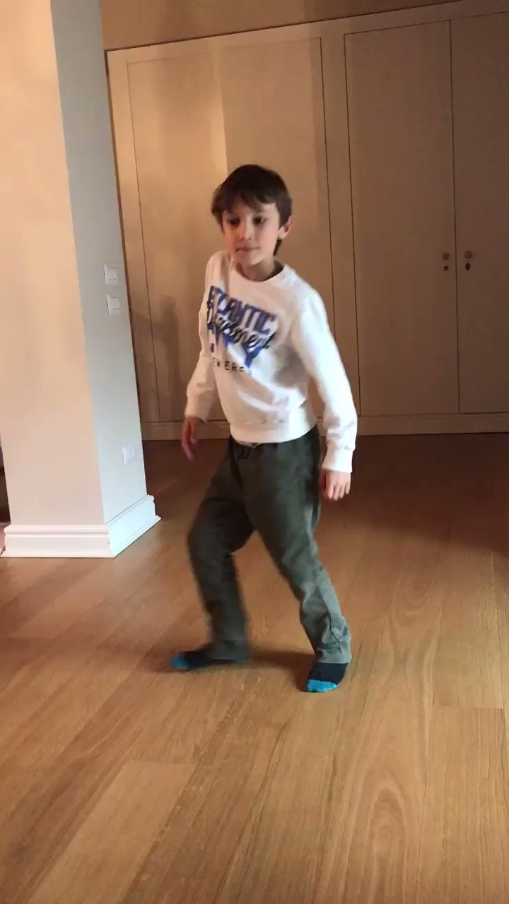 My kid wanted to dedicate his dance to you  Happy Birthday Have an amazing day