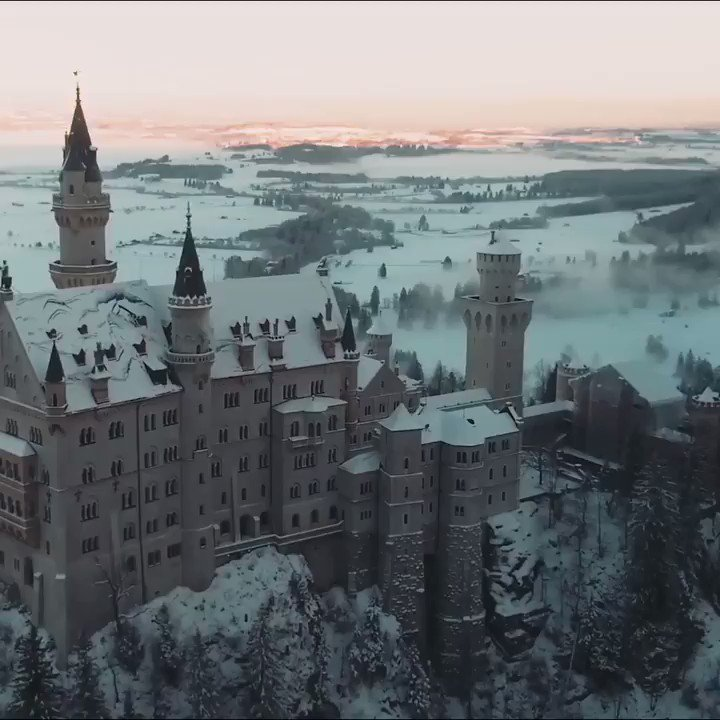 Some of Europe's most dazzling sites—including snowy peaks and a magical castle—have inspired fairytales like Cinderella and Sleeping Beauty https://t.co/h6UcdiqqL8