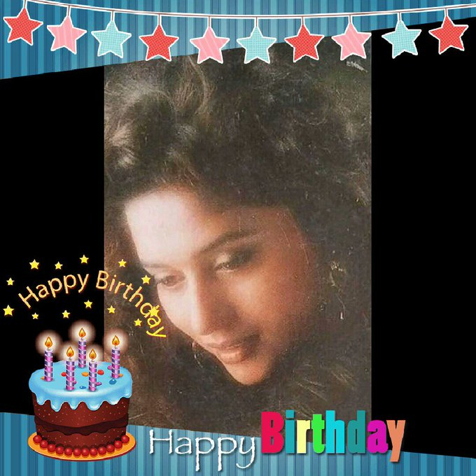 Happy birthday..                        ....  HAPPY BIRTHDAY MADHURI DIXIT .
