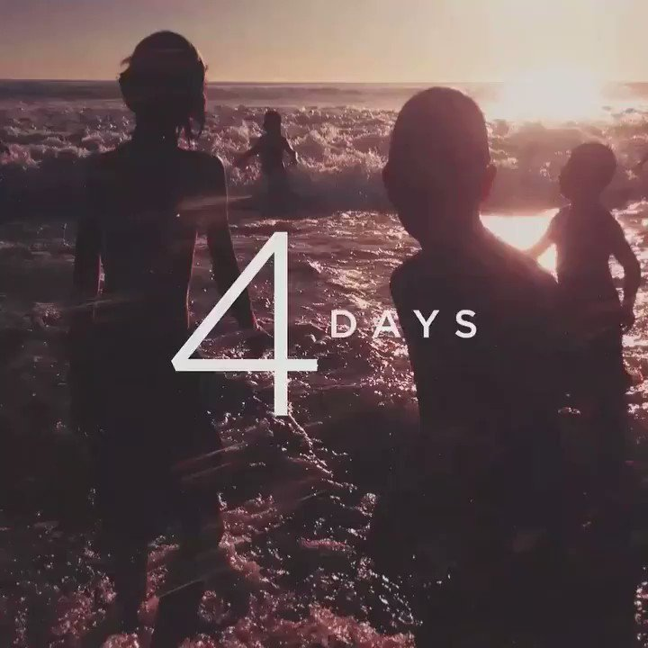 Four days until #OneMoreLight ��. Pre-order / download / stream: https://t.co/VIlD5hOqFU https://t.co/m169lpaK4H