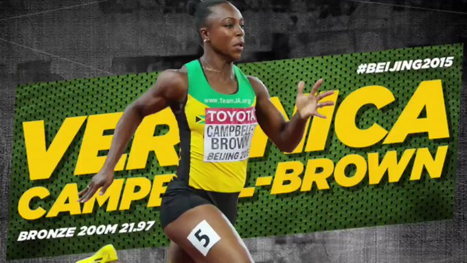 Happy Birthday Veronica Campbell-Brown C.D  . We hope you having a wonderful one