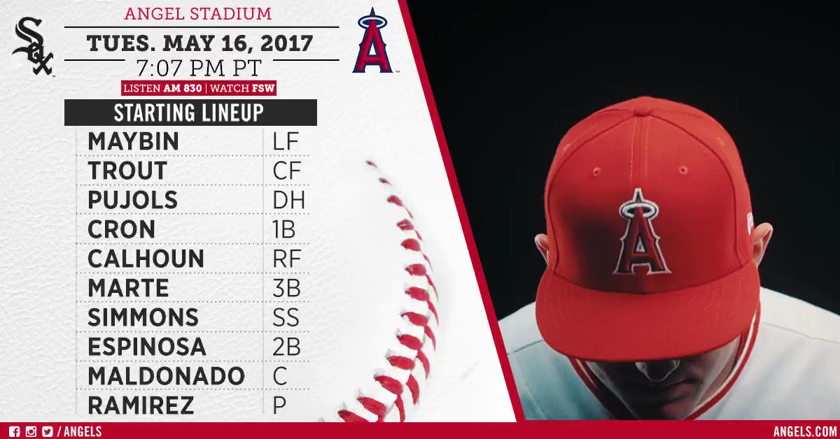 Halos look to stay hot against the White Sox in Game 2 #AtTheBigA.   Game Preview: https://t.co/0z9hiT6YAz https://t.co/PaxMpAFxQD