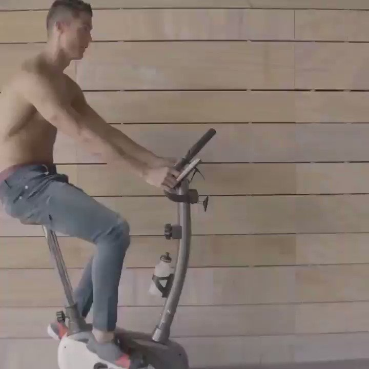 #TBT to the first time I took my @CR7limitless jeans for a spin. ������https://t.co/rIL6OxcBQk https://t.co/sfybTlWVJK
