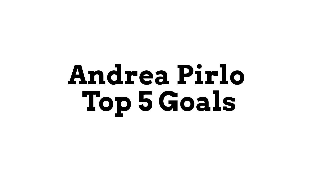 Happy birthday to \The Architect\, Andrea Pirlo.  Not a bad player, that fella.