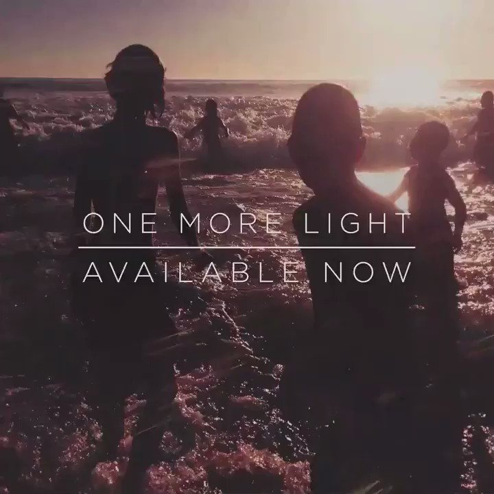 #OneMoreLight available everywhere now �� Stream / download: https://t.co/VIlD5hOqFU https://t.co/oRaBEJIy3h