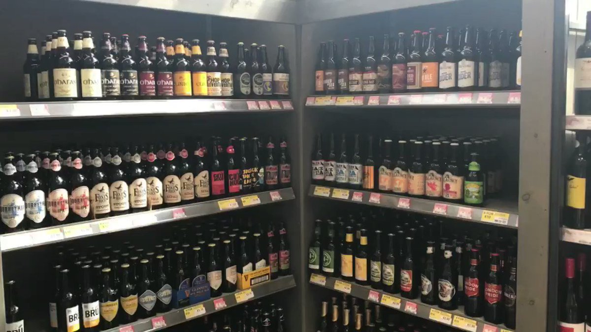 Huge Craft Range of quality beers 🍻 https://t.co/h7gM4c74JP