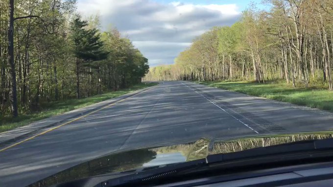 New leaves ... fresh air ... open roads ... ahhhh spring in NW #puremichigan https://t.co/4l0xkvBDLY