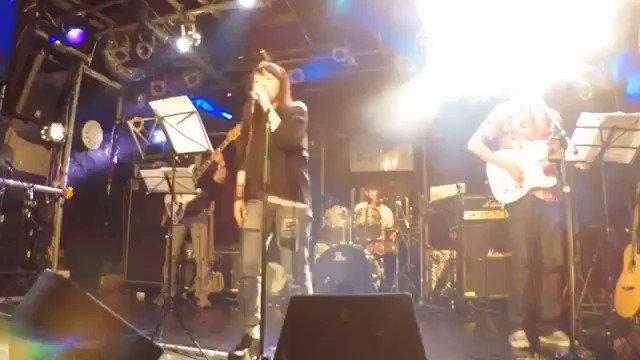 浦和キャッツ発表会。十代のドラムの生徒さんの選曲。若いパワーを受け久々に #アニソン #歌ってみた けどいぶし銀w#ビビ