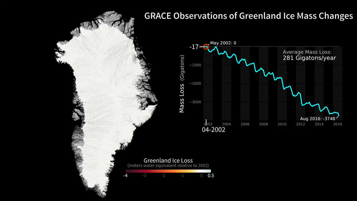 Greenland ice loss aided by  'gigantic invisible wave' - NASA