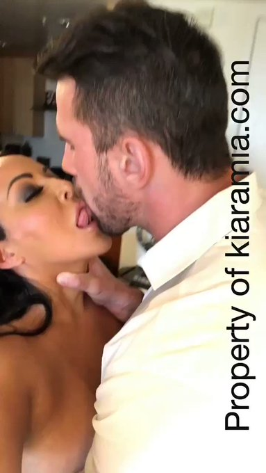 Hand around my throat ❤️ @manuelferrara see what happen next on https://t.co/L76rWUEioC all new porn