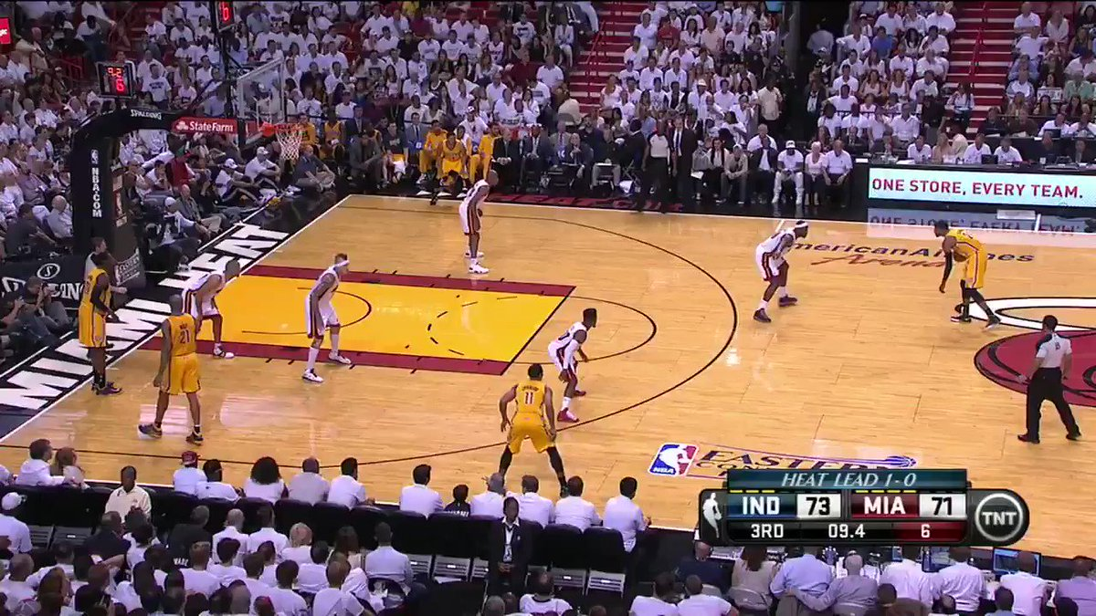 #TheJump Distant Replay On this date four years ago, PG-13 threw one down so viciously, even LeBron gave it up