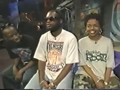 Happy birthday queen. Ms. Lauryn Hill\s skills on display in this 1994 freestyle