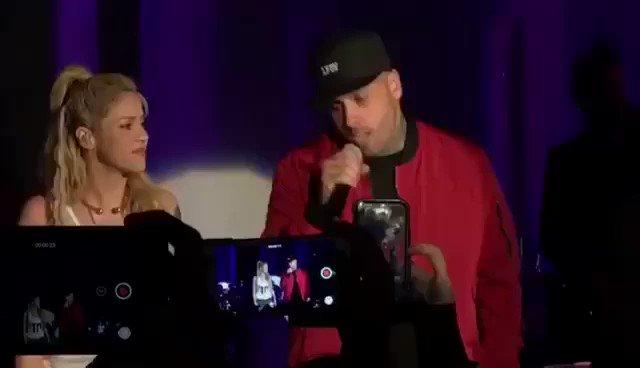 @NickyJamPR Enjoying @NickyJamPR on stage tonight at the 'el Dorado' party! Shak https://t.co/qFOjcPb48I
