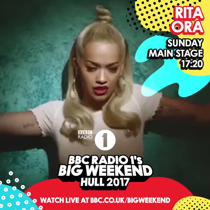 HULL! can't wait to see you all at @bbcr1 #bigweekend later - tune in live at https://t.co/XEihaKdGI1! https://t.co/vSNwmcSlYV