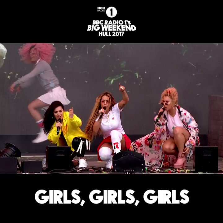 RT @BBCR1: ✅ Brand new @RitaOra  ✅ @charli_xcx and @raye on stage ✅ #bigweekend with the girls https://t.co/gazvvRBHsh