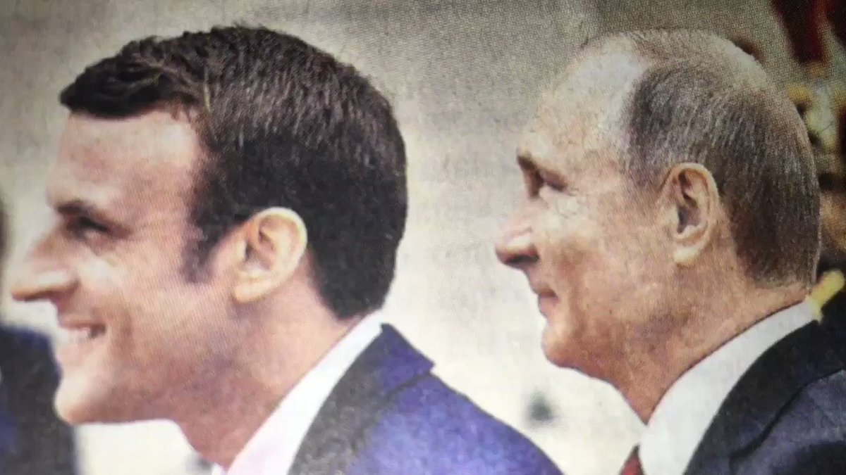 Did they get on - or didn't they? What today's Russian papers are saying about the Macron/Putin meeting. https://t.co/ExIbpDZtQE
