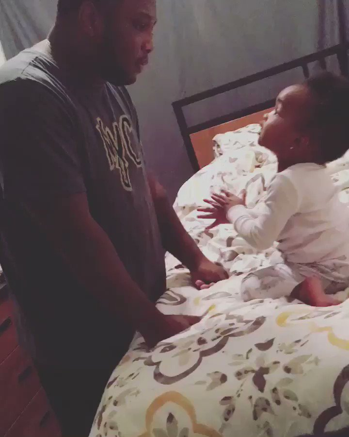 Let's never forget when this father and daughter were fighting like an old couple 😂