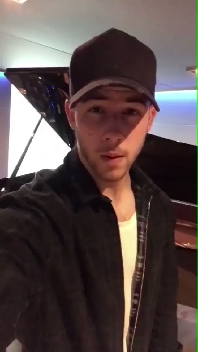 .@nickjonas is taking over our IG Story for the day �� Follow along: https://t.co/WHXMPO6LfE https://t.co/WK25uOZAMf