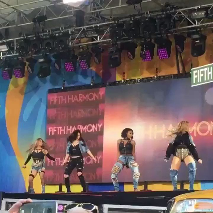 Tune into @GMA now!!! You don't want to miss this ������ #5HonGMA @FifthHarmony https://t.co/4dlIvzGy9r