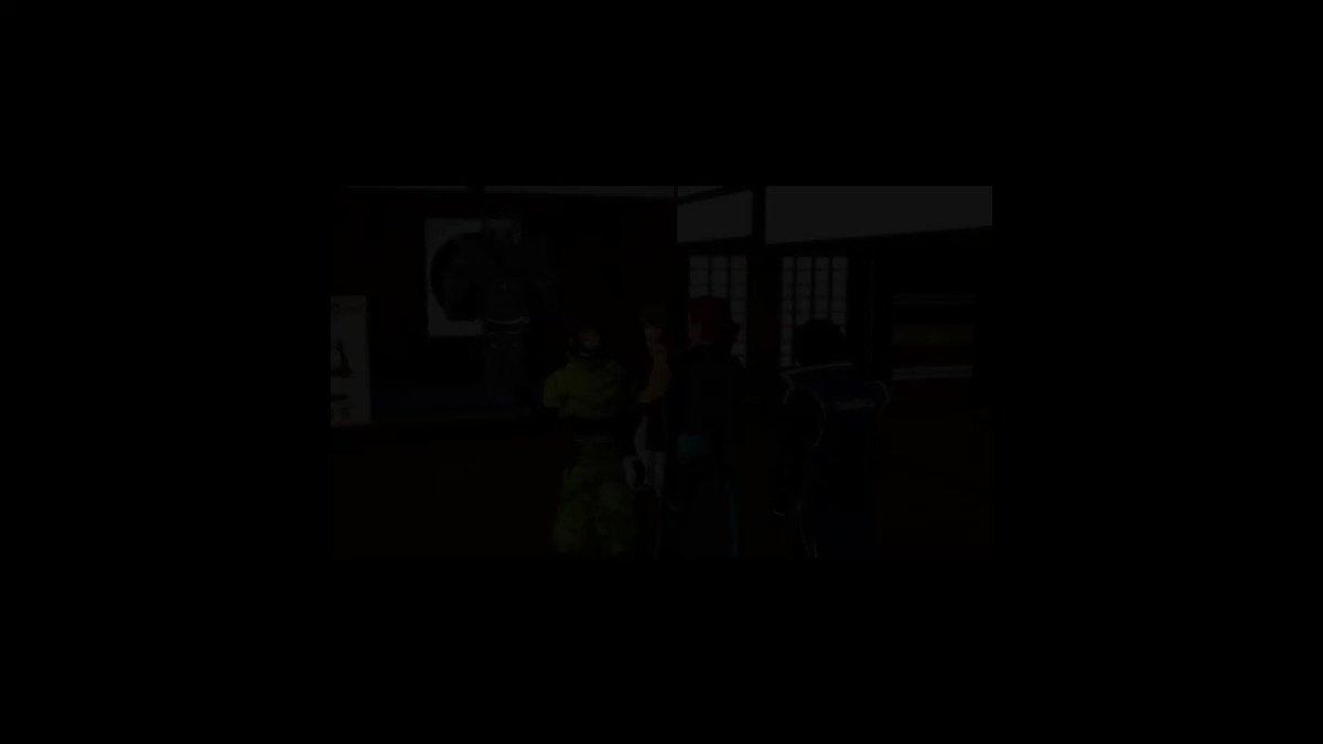 """KYS氏から許可が出たのでTwitterにドーン大変クオリティの高い本家動画""""【MMD】すばらしきヨガ【戦国BASAR"""
