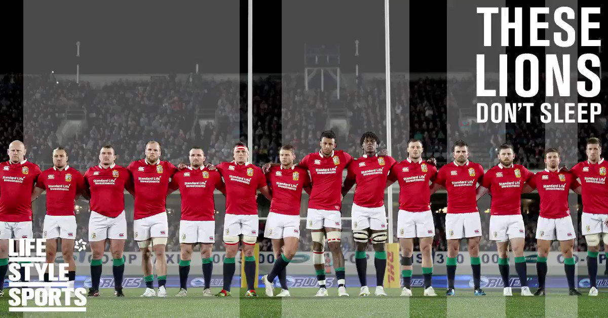 Everyone is looking to win but few are willing to hunt. #LionsNZ2017 https://t.co/PxHmUYDsP3