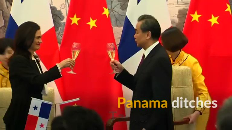 Panama establishes ties with China, ditches Taiwan in win for Beijing. See more: