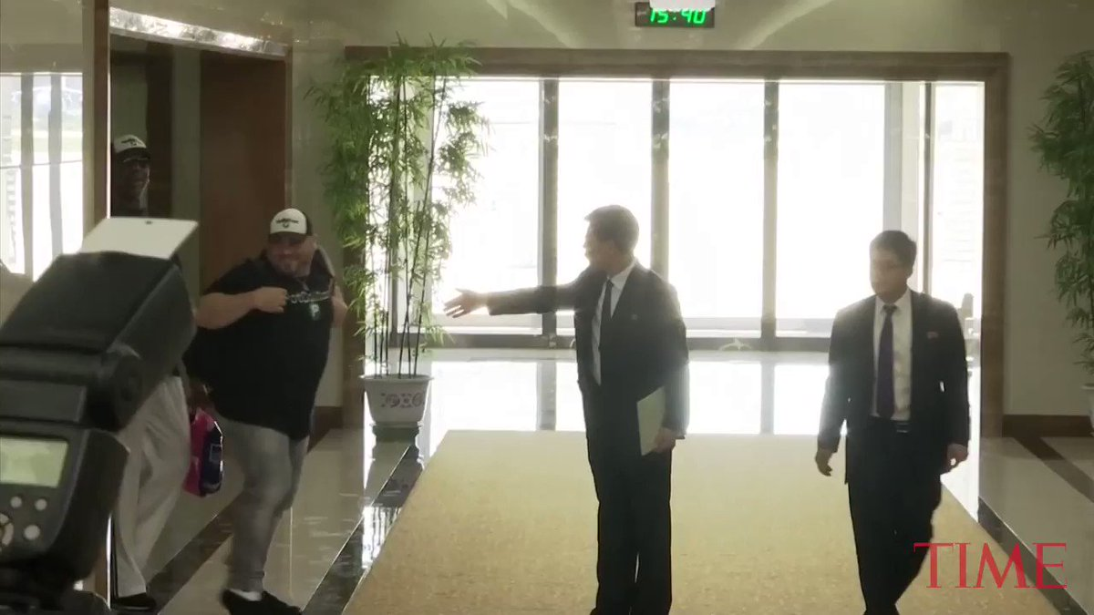 Dennis Rodman returns to North Korea for a third round of 'basketball diplomacy'