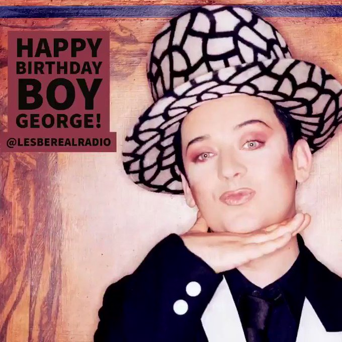 Boy George Turns 56 Today! Happy Birthday!