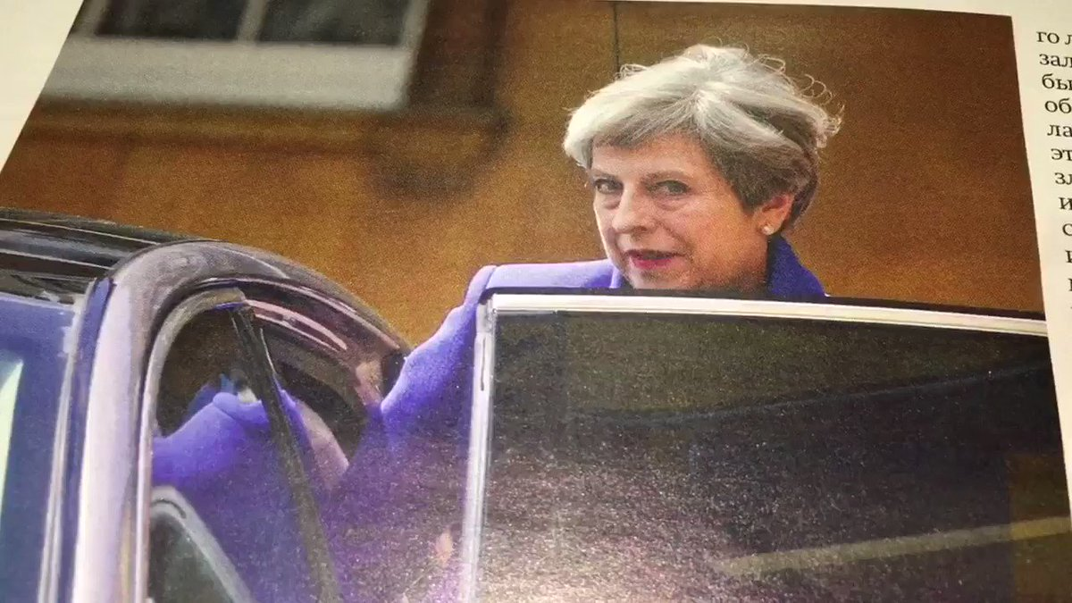 'Cold Lady': the Russian press tears into Theresa May. One magazine likens her to 'a parrot'. https://t.co/xSc47ZH6UT