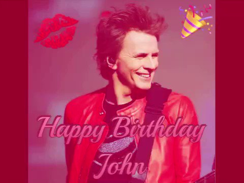 Happy 57th birthday to my first crush John Taylor of