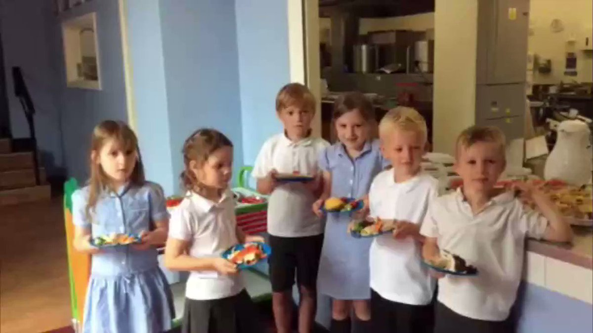 RT @UKChange: Victory: These children have a message for the 158,000 people who helped! #saveschoollunches https://t.co/ZalyDbFyE1