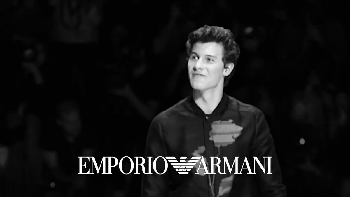 RT @armani: .@ShawnMendes, who closed the #EmporioArmani #SS18 show, shares with us his first fashion experience! #ArmaniStars https://t.co…