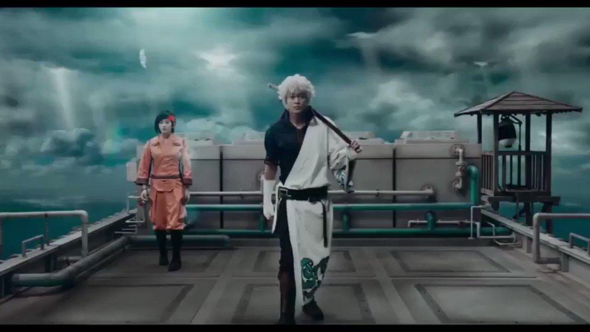 映画『銀魂』予告2を声真似で差し替えてみた。 銀時 あほの坂田         沖田 暇72*  高杉 KYS  土方
