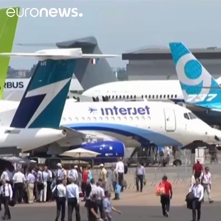 Our top moments from the Paris Air Show! More at @ohagan_jim @WilksJeremy