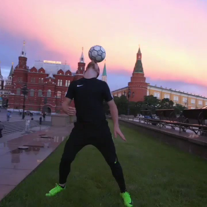 Ballin in the Red Square