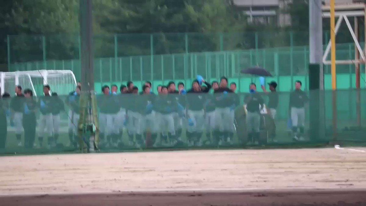 高校野球練習試合2017年6月25日・春日丘G天    竜 1  = 010 000 0011 = 023 040 2中