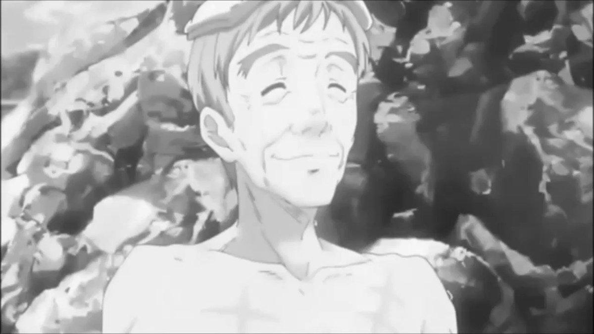 イロっぽいけど全然イヤらしくない乳浴シーンこのハヤカワのような態度こそ日本男児本来の姿(笑)#ばくおん #アニメ大好き