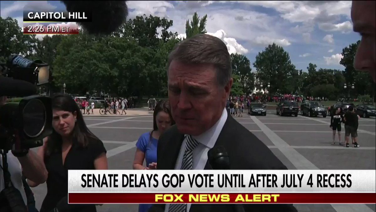 ".@sendavidperdue on the healthcare bill: ""This is it we've got one more shot at this."""