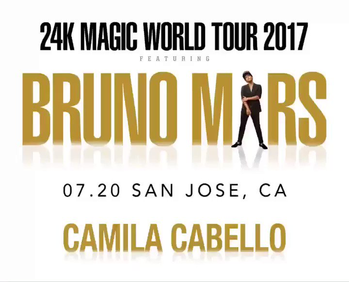 Get ready!!! Our girl @Camila_Cabello is opening for @BrunoMars this summer ������������ https://t.co/QmK93vBXrb